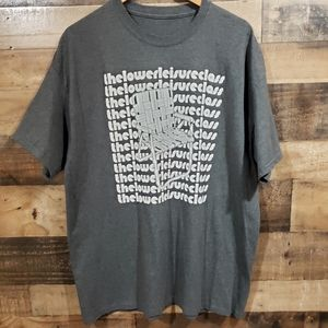 The lower leisure class graphic t-shirt